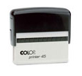 Order your custom self inking Colop Printer 45 stamp online from Gage Stamp and Badge, Barrie Ontario Canada. Your premier source for quality custom made Colop self inking rubber stamps.