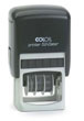 Order your custom self inking Colop Printer 52 date stamp online from Gage Stamp and Badge, Barrie Ontario Canada. Your premier source for quality custom made Colop self inking dater rubber stamps.