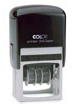 Order your custom self inking Colop Printer 54 date stamp online from Gage Stamp and Badge, Barrie Ontario Canada. Your premier source for quality custom made Colop self inking dater rubber stamps.
